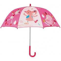 JEDNOROŻEC LOUISE różowa parasolka