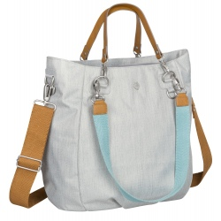 TORBA Z AKCESORIAMI Mix 'n Match Light grey Green Label