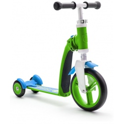HIGHWAYBABY PLUS 2w1 hulajnoga i rowerek 1+ Green