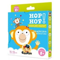 GDZIE JEST MAMA? książeczka edukacyjna Hop Hop