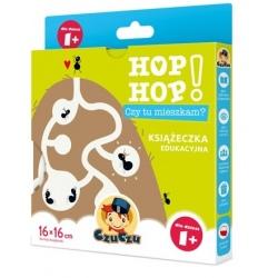 CZY TU MIESZKAM? książeczka edukacyjna Hop Hop