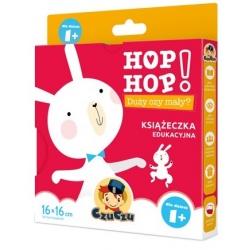 DUŻY CZY MAŁY? książeczka edukacyjna Hop Hop