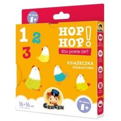 KTO POWIE ILE? książeczka edukacyjna Hop Hop
