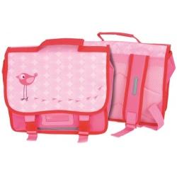 PTASZEK różowy plecak dla przedszkolaka