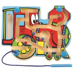 LOKOMOTYWA magnetyczny labirynt gra zręcznościowa