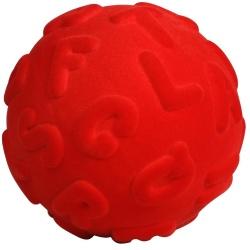 ALFABET duże litery czerwona piłeczka motoryczna