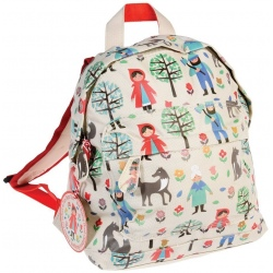 CZERWONY KAPTUREK mini plecaczek
