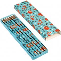 LISEK zestaw ołówków  w pudełeczku HB 6 szt.