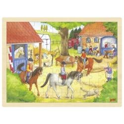 STADNINA drewniane puzzle