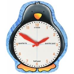 PINGWINEK zegar do nauki czasu