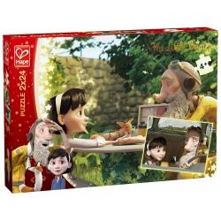 PRZYWIĄZANIE zestaw puzzli 2 x 24 el. Mały Książę