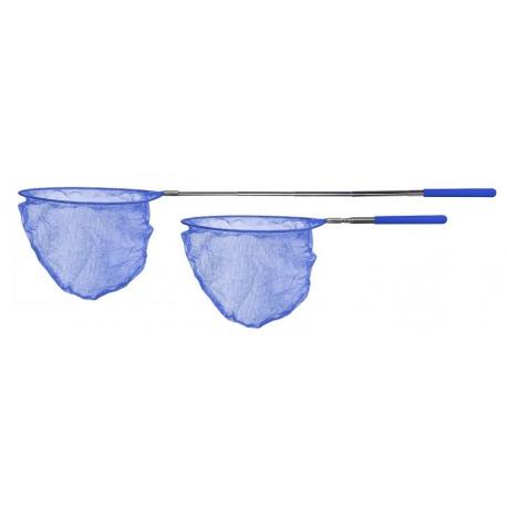 SCRUNCH NET niebieska siatka na motyle