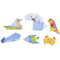 ZWIERZĄTKA origami zestaw Peggy Diggledey