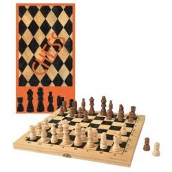SZACHY drewniana gra strategiczna