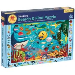 ZWIERZĄTKA MORSKIE puzzle obserwacyjne 64 el.