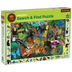 LAS TROPIKALNY puzzle obserwacyjne 64 el.
