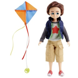 FINN fan latawców lalka Kite Flyer Finn 18 cm