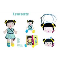 LOUISETTE - zestaw z lalką LM 45000 47000 46700