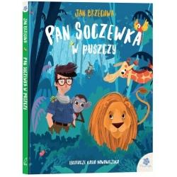PAN SOCZEWKA W PUSZCZY książka Jan Brzechwa