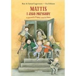MATTIS I JEGO PRZYGODY w pierwszej drugiej i trzeciej klasie książka