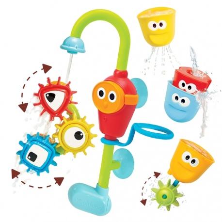WESOŁY KRANIK I WIRUJĄCE TRYBIKI zabawka do kąpieli