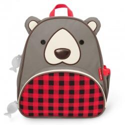 NIEDŹWIADEK plecak dla przedszkolaka Winter Zoo