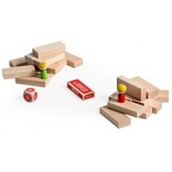 WIEŻA drewniana gra zręcznościowa