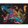 SMOK kolorowanka welwetowa obraz 47x35 cm