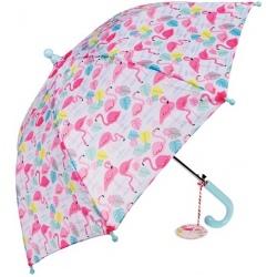 FLAMINGI kolorowa parasolka