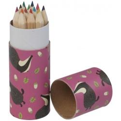 BORSUK kredki ołówkowe w tubie 12 szt.