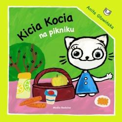 KICIA KOCIA NA PIKNIKU książeczka dla najmłodszych