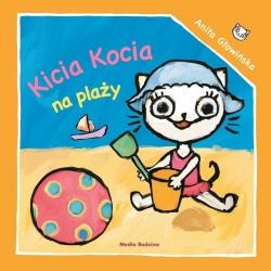 KICIA KOCIA NA PLAŻY książeczka dla najmłodszych