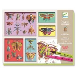 GABINET OSOBLIWOŚCI zestaw artystyczny galeria owadów