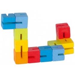 KLOCKI elastyczna mini układanka