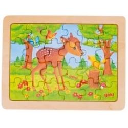 SARENKA drewniane puzzle 24 el.