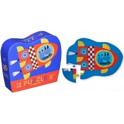 RAKIETA puzzle tekturowe 12 el.