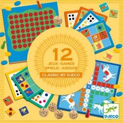 CLASSIC BOX zestaw gier 12 w 1