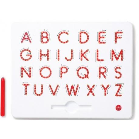 TABLICA MAGNETYCZNA do nauki pisania - duże litery