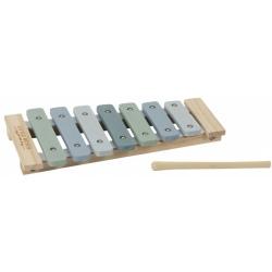 NIEBIESKIE CYMBAŁKI drewniany instrument