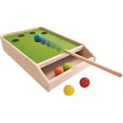 MINI BILARD drewniana gra zręcznościowa