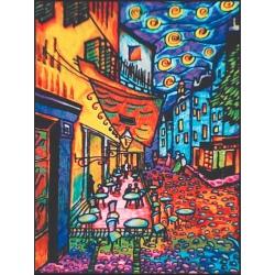 TARASY kolorowanka welwetowa 47x35 cm Van Gogh