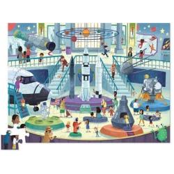 KOSMOS dzień w muzeum puzzle tekturowe 72 el.