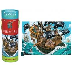 PIRACI tekturowe puzzle w tubie 200 el.