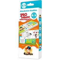 AKADEMIA CZUCZU 240 zabaw edukacyjnych 4+