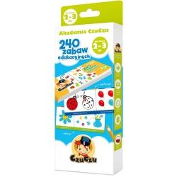 AKADEMIA CZUCZU 240 zabaw edukacyjnych 2+