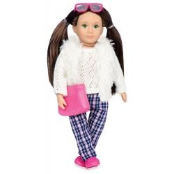 WITNEY lalka modnisia brunetka 15 cm