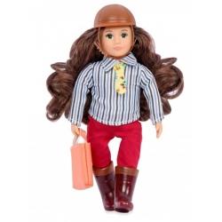 TEAGAN lalka dżokejka szatynka 15 cm