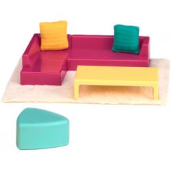 JADALNIA zestaw mebelków z akcesoriami Moderna Dining Set
