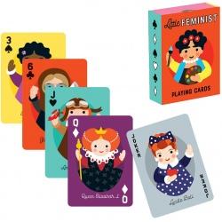 NIEZWYKŁE KOBIETY karty do gry talia