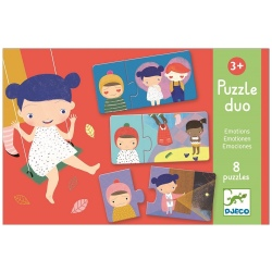 EMOCJE puzzle tekturowe duo